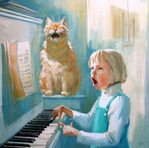 Коты Марии Павловой