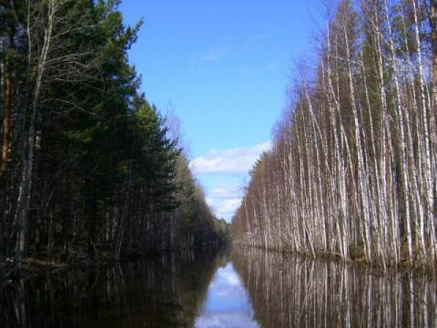Обь-Енисейский канал. Водный путь древней Сибири