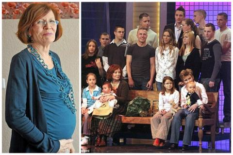 Женщина родила в 65 лет четв…