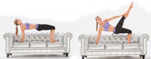 Начнем с понедельника? Фитнес для ленивых: гимнастика, не вставая с дивана