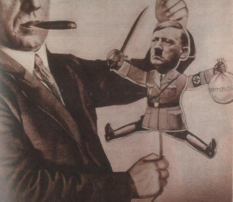 Генеральный спонсор: как еврейские банкиры создавали Третий Рейх