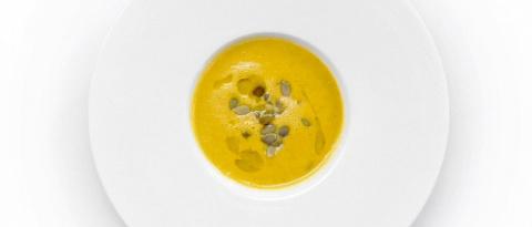Тыквенные рецепты. Крем-суп из тыквы