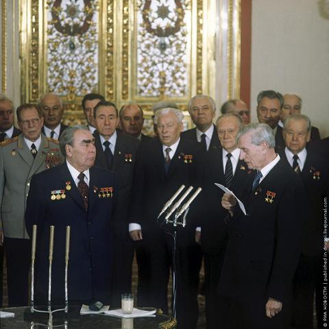 Ушедшая  в историю  великая страна: СССР 1981 в цвете