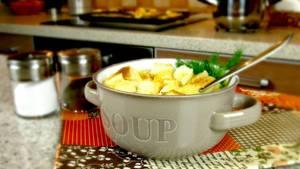 Суп-пюре из цветной капусты …