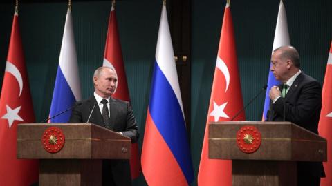 Сирия сегодня: Путин и Эрдоган обсудили ситуацию в Африне, ЛАГ обеспокоена операцией Турции