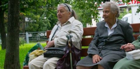 Киевская пенсионерка носталь…