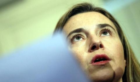 Могерини рассуждает о взгляде ЕС и США на анитироссийские санкции