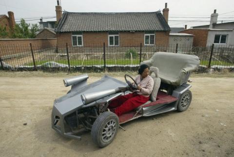 Самые необычные транспортные средства