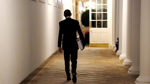 Обама опоздал…