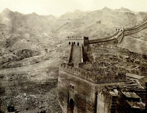 Пекин в 1870 году на редких …