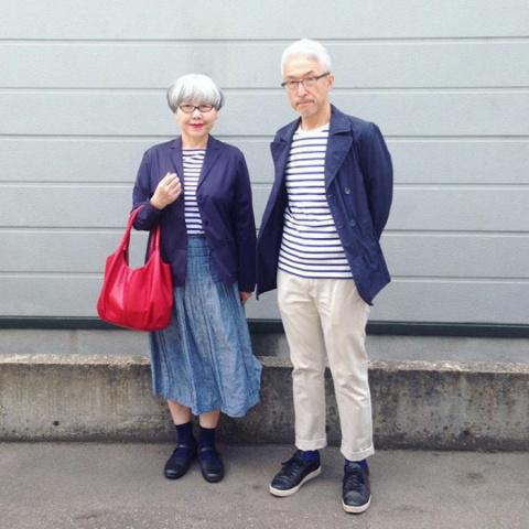Стильные японские пенсионеры одеваются каждый день так, чтобы подходить друг другу