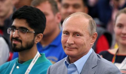 Владимир Путин о генной инже…