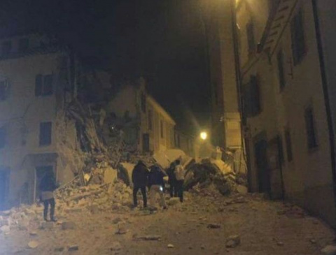 Италию сотрясло землетрясени…