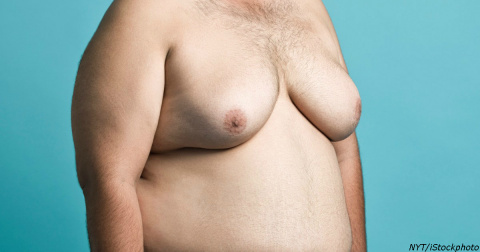 Ученые выяснили, почему на самом деле у мужчин растет грудь