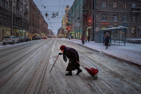 Эмоции Петербурга в восхитительных фотографиях