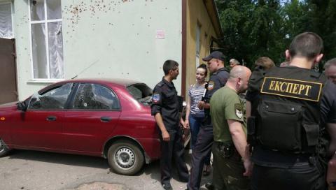 И снова взрыв в Донецке