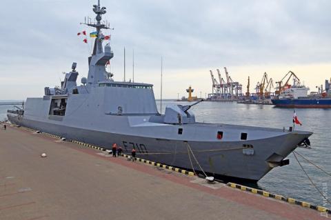 НАТОвский фрегат La Fayette зайдет в порт Одессы