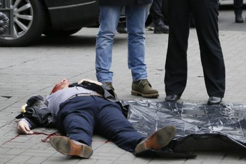 Выстрелы на бульваре Шевченко. 15:14, 23 марта 2017