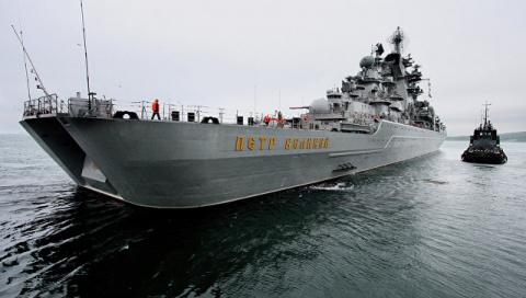 Зачем корабли Северного флот…
