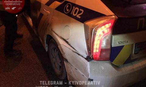 Пьяный помощник Генпрокурора Украины устроил ДТП с патрульным авто