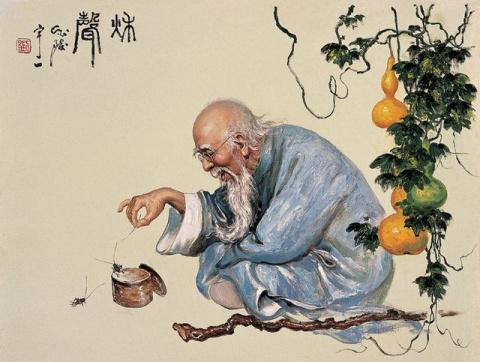 Правила жизни философа-даосиста Хань Сян-цзы