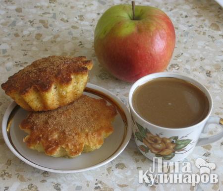 Яблочные кексы, простые и ароматные!