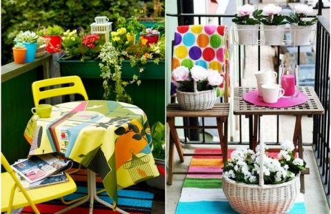 Как стильно обустроить балкон: 20 очаровательных примеров, на которые непременно нужно взглянуть