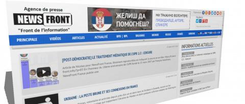«Совпадение, не думаю»: News Front запустил французскую версию сайта в день приезда Ле Пен в Москву