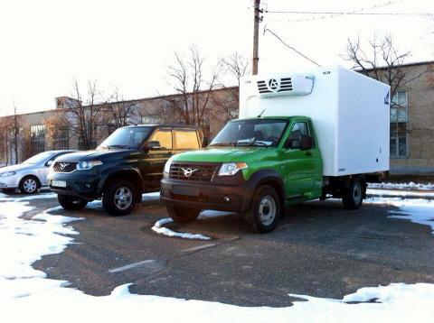 Новый грузовичок УАЗ: до конвейера остался последний шаг