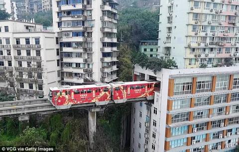 Китайские поезда, которые ез…