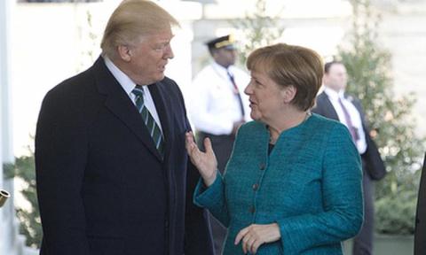 Трамп обсудил с Меркель войну и мир