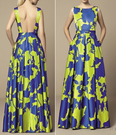 Красивое платье_ сарафан для лета + выкройка.