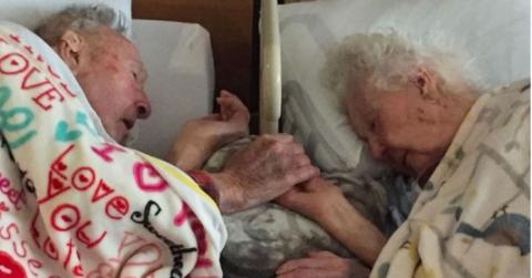 После 77 лет брака, любящая …
