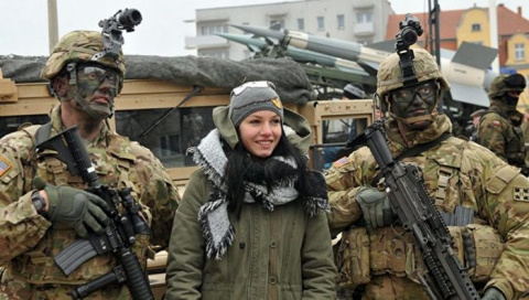 Картошка три раза в день. Американских солдат пугают Польшей
