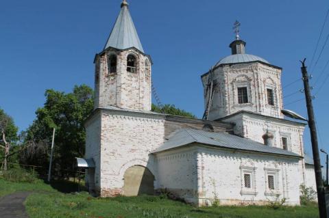 Церковь из русской глубинки