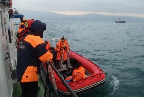 Пилот Ту-154, разбившегося под Сочи, контролируемо сел на воду
