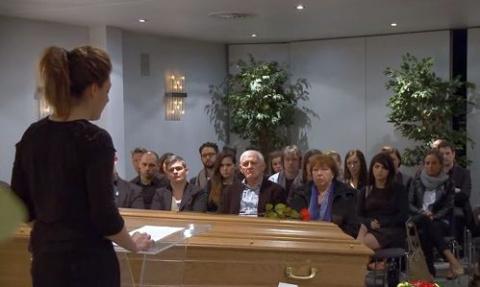 Бельгийцев пригласили на собственные похороны