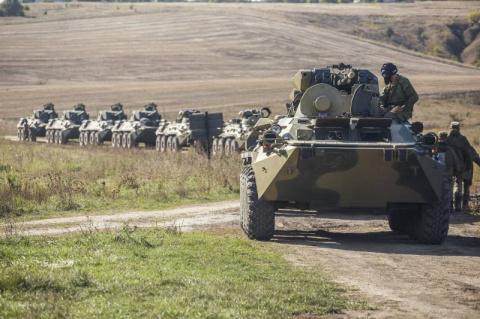 Учения в ЗВО рядом с украинс…