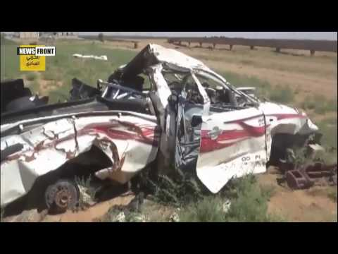 Уничтоженная сирийской армией техника ИГИЛ