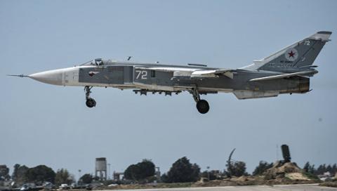 СМИ назвали возможную причину крушения Су-24 в Сирии