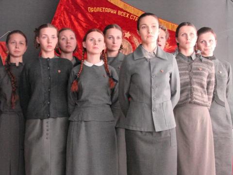 Манекенщицы Советского Союза…