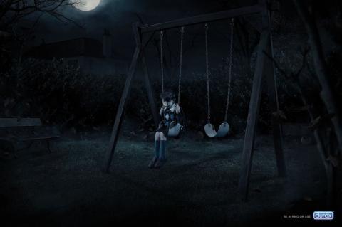 «Бойтесь детей!» - новая реклама презервативов