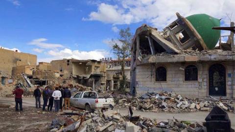 Асад теряет последний город …
