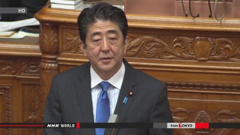 Абэ планирует усилить наблюдение за вулканами