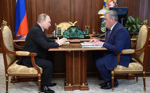 Рабочая встреча с врио Главы Республики Коми Сергеем Гапликовым