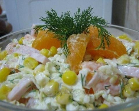 Красивый и вкусный салат «Но…