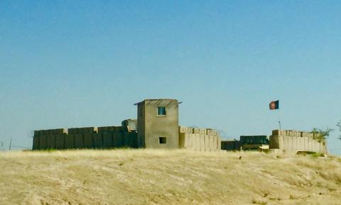Фортификации военных в Афганистане