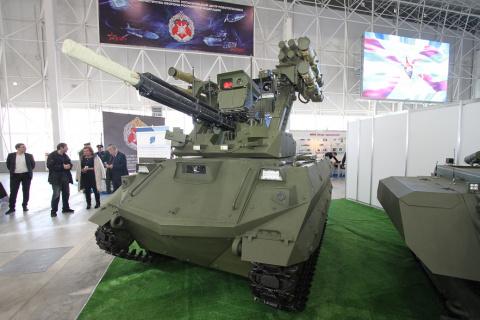 Фоторепортаж со II конференции «Роботизация Вооруженных Сил Российской Федерации»
