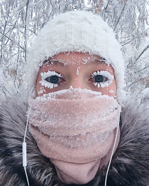 В Оймяконе так холодно, что …