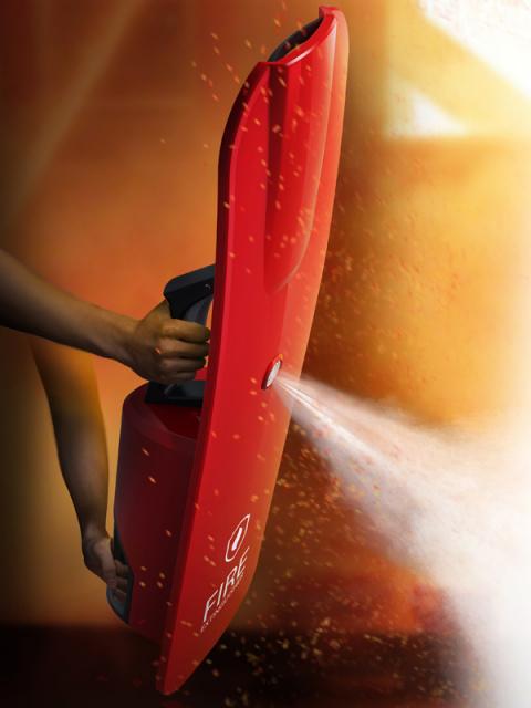 Обновленный огнетушитель призван защитить спасателей